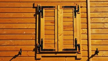 Holzbalkenhäuser aus Polen